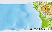 Physical 3D Map of Wilainbemki