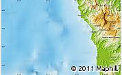 Physical Map of Wilainbemki