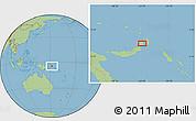 Savanna Style Location Map of Awungi