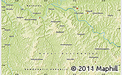 Physical Map of Bakwa-Bilonda