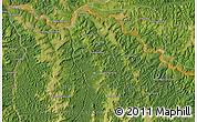 Satellite Map of Bakwa-Bilonda
