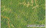 Satellite Map of Bakwa-Mushilu