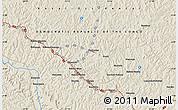 Shaded Relief Map of Bakwa-Mushilu
