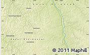 Physical Map of Bakwa-Mbatshi