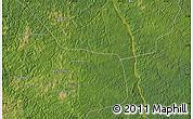 Satellite Map of Bakwa-Mbatshi