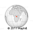 Outline Map of Maloani, rectangular outline