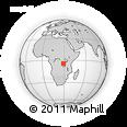 Outline Map of Kikonde Primary School (E. P. Kikonde), rectangular outline