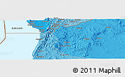 Political Panoramic Map of Bukeye
