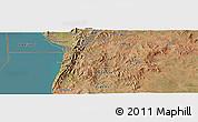Satellite Panoramic Map of Bukeye