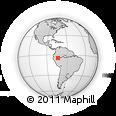 Outline Map of Nauta, rectangular outline