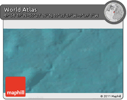 """Satellite 3D Map of the Area around 50°7'47""""N,10°7'30""""W"""