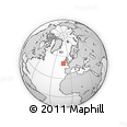 """Outline Map of the Area around 50° 7' 47"""" N, 11° 49' 29"""" W, rectangular outline"""