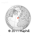 """Outline Map of the Area around 50° 7' 47"""" N, 12° 40' 30"""" W, rectangular outline"""