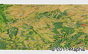 Satellite 3D Map of Beroun