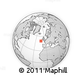 """Outline Map of the Area around 50° 7' 47"""" N, 13° 31' 30"""" W, rectangular outline"""