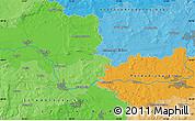 Political Map of Nový Bydžov