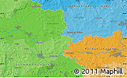 Political Map of Kolín