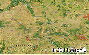 Satellite Map of Kolín