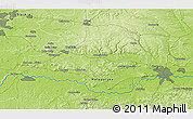 """Physical 3D Map of the area around 50°7'47""""N,19°37'30""""E"""