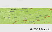 Physical Panoramic Map of Budki