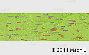 "Physical Panoramic Map of the area around 50° 7' 47"" N, 29° 49' 30"" E"