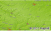 """Physical Map of the area around 50°7'47""""N,2°37'30""""E"""