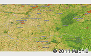 """Satellite 3D Map of the area around 50°7'47""""N,3°28'30""""E"""