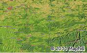 Satellite Map of Maubeuge