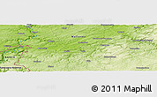 Physical Panoramic Map of Ham-sur-Meuse