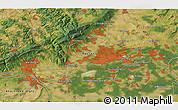 Satellite 3D Map of Wiesbaden