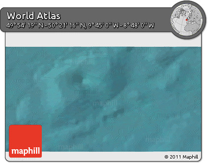 """Satellite 3D Map of the Area around 50°7'47""""N,9°16'30""""W"""
