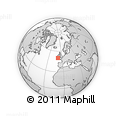 """Outline Map of the Area around 50° 7' 47"""" N, 9° 16' 30"""" W, rectangular outline"""