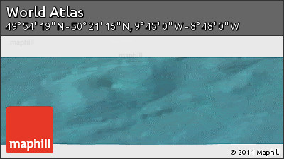 "Satellite Panoramic Map of the Area around 50°7'47""N,9°16'30""W"