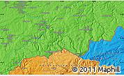 Political Map of Zöblitz