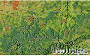 Satellite Map of Zöblitz