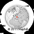 Outline Map of Sokal, rectangular outline