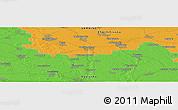 Political Panoramic Map of Zavorichi