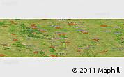 Satellite Panoramic Map of Zavorichi