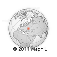 Outline Map of Belgorod, rectangular outline