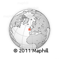 """Outline Map of the Area around 50° 31' 50"""" N, 8° 25' 30"""" W, rectangular outline"""