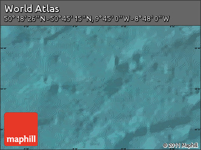 """Satellite Map of the Area around 50°31'50""""N,9°16'30""""W"""