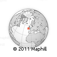 """Outline Map of the Area around 50° 31' 50"""" N, 9° 16' 30"""" W, rectangular outline"""