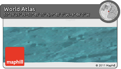 "Satellite Panoramic Map of the Area around 50°31'50""N,9°16'30""W"