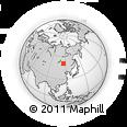 Outline Map of Byrka, rectangular outline