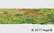 Satellite Panoramic Map of Dresden