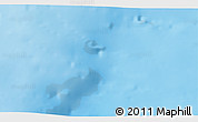 """Shaded Relief 3D Map of the area around 50°55'47""""N,13°31'30""""W"""