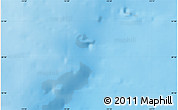 """Shaded Relief Map of the area around 50°55'47""""N,13°31'30""""W"""
