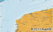 Political Map of Saint-Folquin