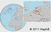 Gray Location Map of Stijlveld