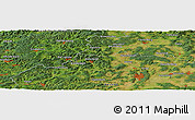 "Satellite Panoramic Map of the area around 50°55'47""N,8°34'29""E"